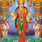 The Goddess of Spiritual and Material Wealth, Lakshmi