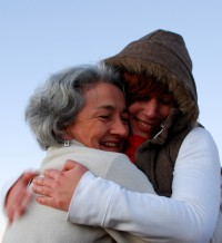 Hugs at Paekakariki