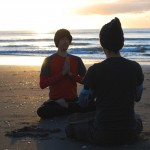 Meditate to raise awareness of climate change