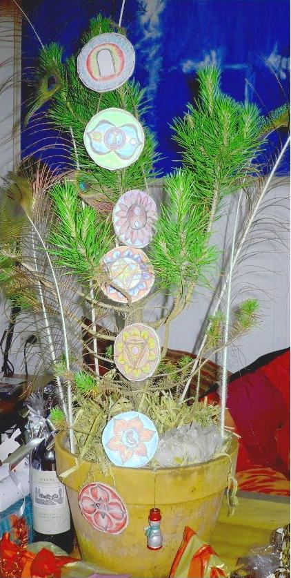 The yogic Christmas Tree