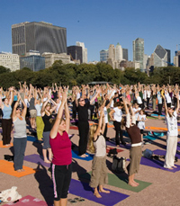 Organising a super successful yoga event takes mindfulness