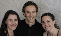 Marianne, Nick & Kelly, OTM workshop facilitators