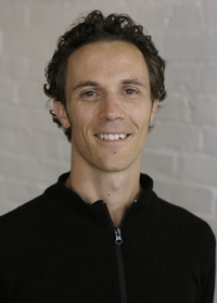 Ashtanga practitioner Nick Potter
