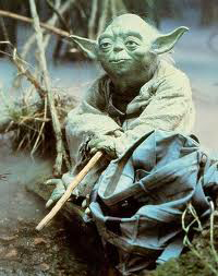 I've been hangin' with Yoda!