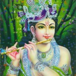 Beautiful Krishna, an aspect of the Divine
