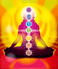 The rainbow of chakras