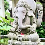 A statue of Ganesh in Bali