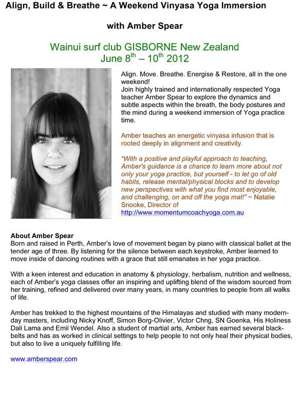 June 8 – 10: Gisborne, Align, Build & Breathe – A Weekend