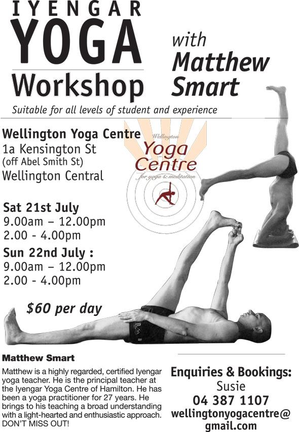 Matthew Smart Iyengar Yoga Workshop