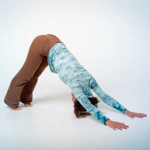 Downward dog... you and are are going to be hanging out a whole lot more in the coming weeks
