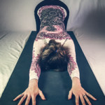 Yoga pose for an over-active mind