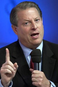 Is Al Gore talking to you?