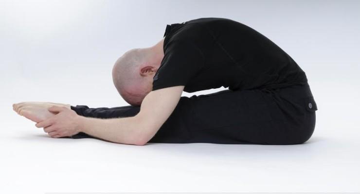 Yin Yoga caterpillar