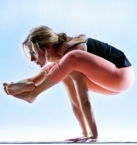 Bhujapidasana requires at least 90 degrees of wrist extension to achieve.