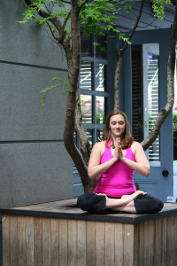 Jennifer Allen, founder of Jayayoga