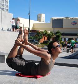 Wellington Yoga Teacher Taisuke Tanimura