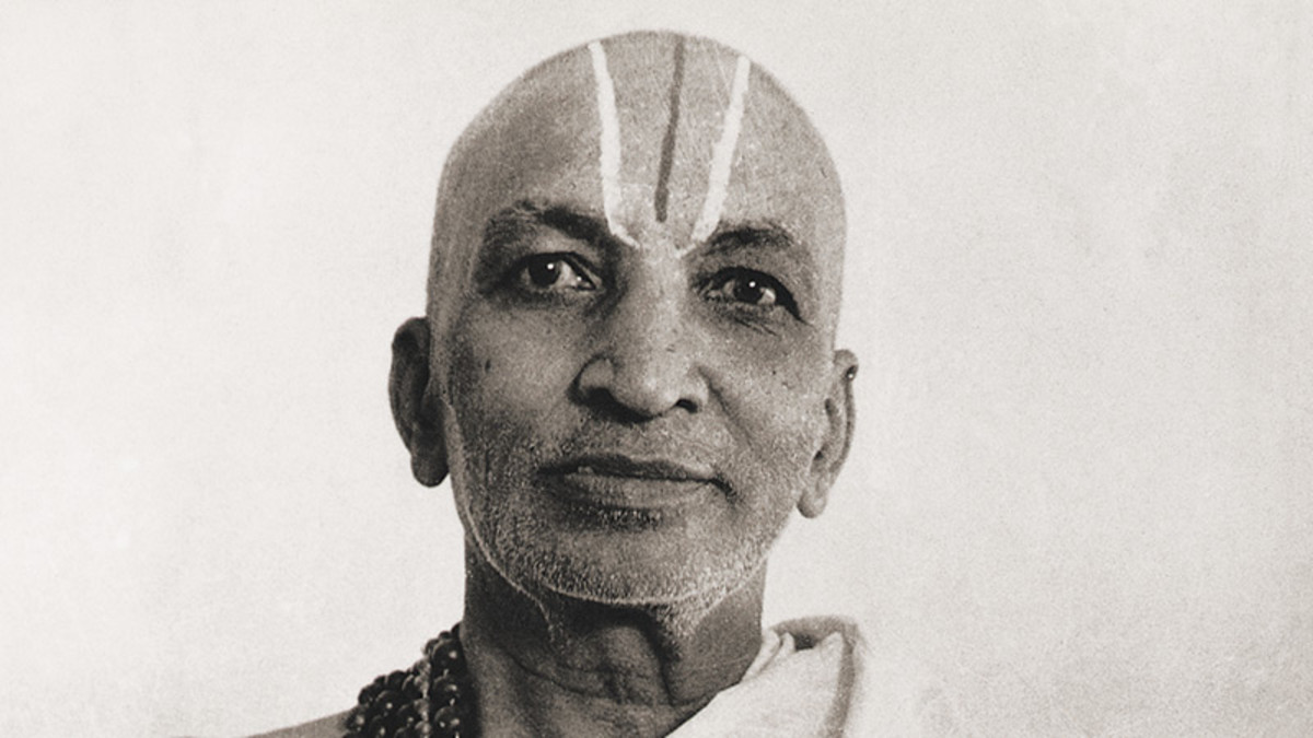 Krishnamacharya, a great yogi who lived to over 100 years old