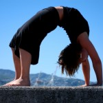 How to surrender into back bends using a sankalpa