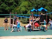 Prana Flow Yoga Teacher trainees with Twee Merrigan