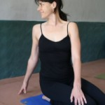 Simple Seated Yoga Twist