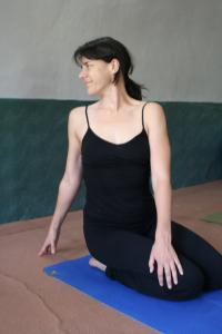 Simple Seated Yoga Twist