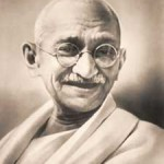Ghandi's life was all about the first yogic yama - Ahimsa