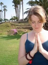 American Yoga Teacher Kaitlyn McConnell