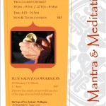 Various Dates: Wellington, Mantra & Meditation Courses & Workshops