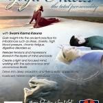 February 24 – 26: Anahata Yoga Retreat, Yoga Nidra – The Total Personality
