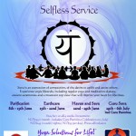 June 8 – July 6: Anahata Yoga Retreat, Seva Month -Selfless Service