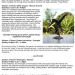 June 8 – 10: Gisborne, Align, Build & Breathe – A Weekend Vinyasa Yoga Immersion with Amber Spear
