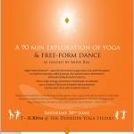 June 30th: The Dunedin Yoga Studio, Yoga Trance Dance with Kara-Leah Grant