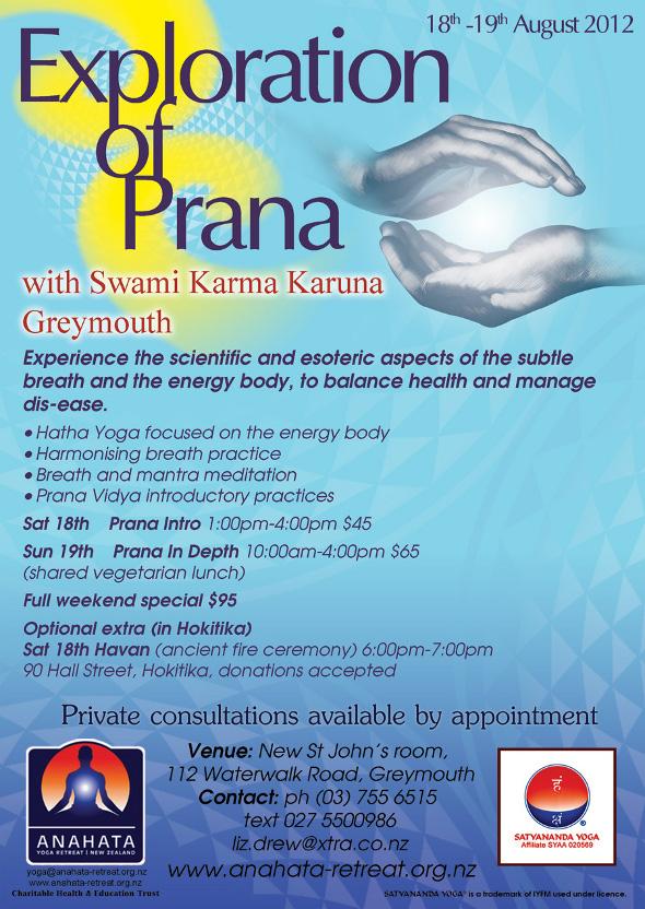 Exploration of Prana