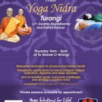 September 13: Turangi, Relaxation and Health with Yoga Nidra