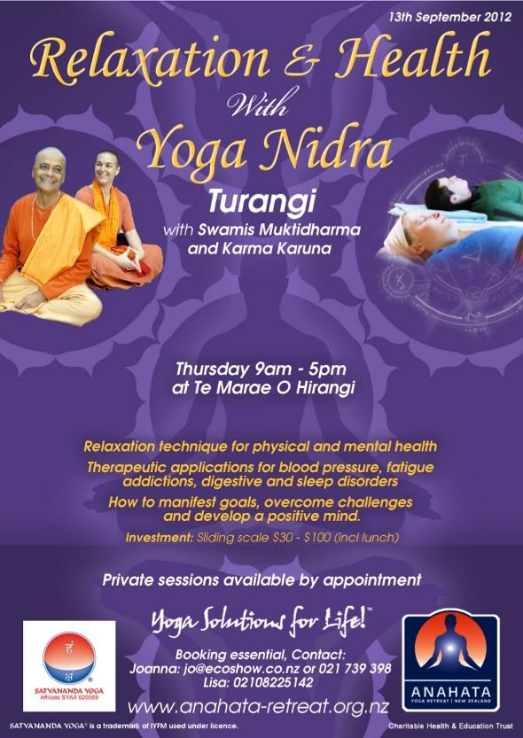 Deep Relaxation with Yoga Nidra