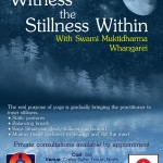August 18: Whangarei, Witness the Stillness Within, A Yoga Workshop