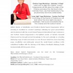 September 1-2: Auckland, Swami Durgananda, Inner Light & Chakra Yoga Workshops