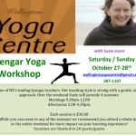 Oct 27 – 28 Iyengar Workshop with Susie Lever, Wellington Yoga Centre