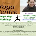 Wellington Yoga Centre Workshop