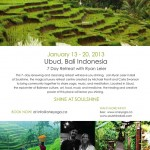 January 13: Bali, Yoga Retreat: Shine On