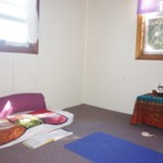 My space for home yoga practice