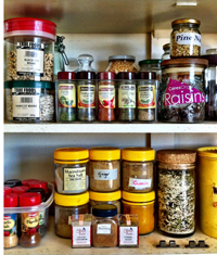 Organised, clean cupboards are an aspect of our yoga practice... yes really!