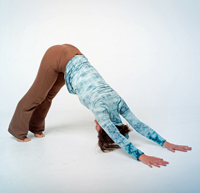 Downward dog... you and I are going to be hanging out a whole lot more in the coming weeks