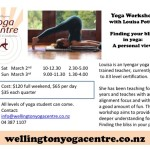 March 2-3 : Wellington, Yoga Bliss Workshop