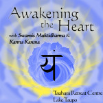 August 23 – 25: Taupo, Awakening the Heart with Yoga with Swamis Karma Karuna and Sannyasin Atmabhava