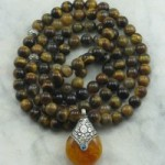 Mala Beads for Autumn Yoga and Meditation
