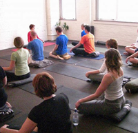 Think outside the yoga studio for your first yoga teaching job.