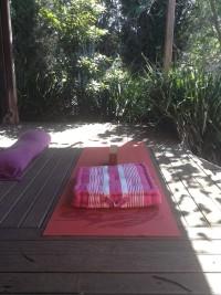 Sara's yoga mat