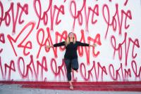 Melanie Klein loves her yoga body