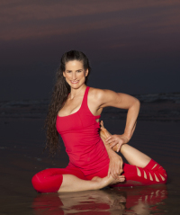 Ana Forrest, creatix of Forrest Yoga
